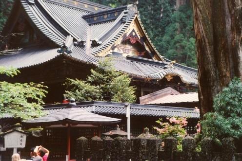 The great hall at Futaarasan Shrine.