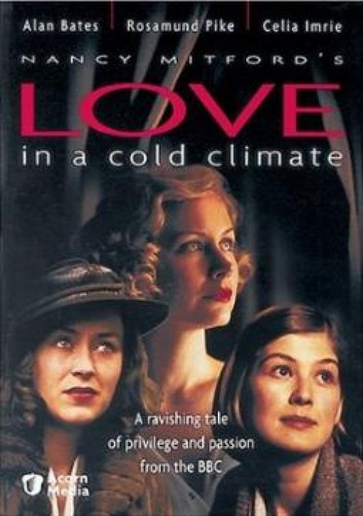 """The BBC Film, """"Love In A Cold Climate"""", combines the two novels into one story."""