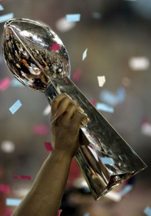 Who will end up holding the Lombardi Trophy in February?