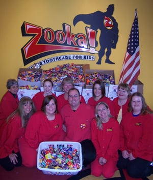 Zooka! has an annual buy-back of Halloween candy