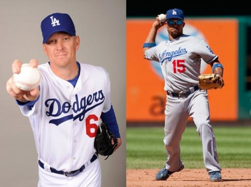 Dodgers Home and Away Uniforms