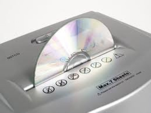 DVD Shredder