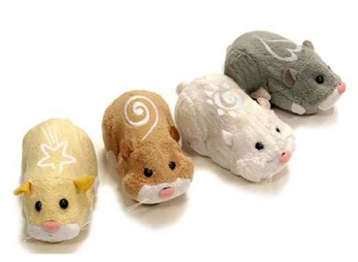Zhu Zhu Pets Hamsters