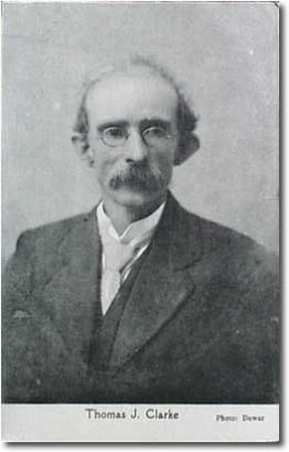 Thomas Clarke executed after the Easter Rising 1916 in Ireland