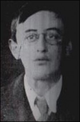Joseph Plunkett executed after the Easter Rising 1916 in Ireland