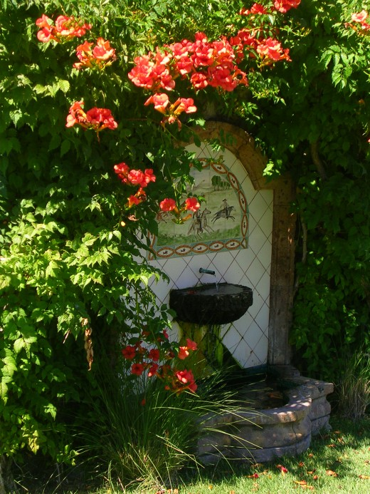 The historic well at Murrieta's Well Winery.  (Photo credit:  M. Thomas)