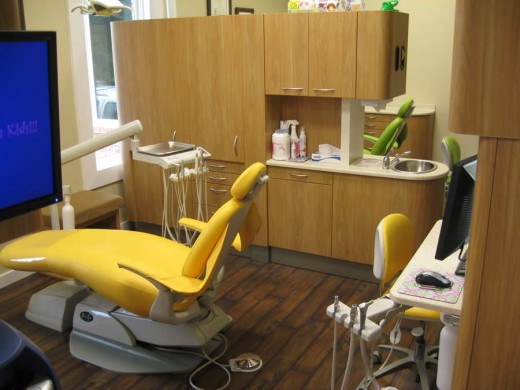 Inside Rainsville Pediatric Dental Village DeKalb County Alabama