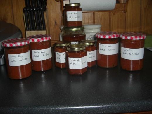 Tomato paste/puree