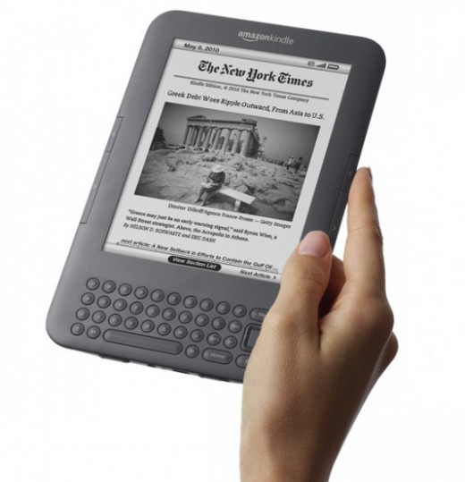 Amazon's Kindle 3