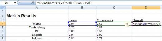 Show formulas in an Excel worksheet