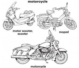Source: http://www.learnersdictionary.com/art/ld/motorcycle.gif
