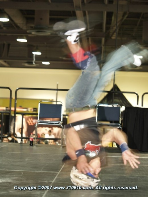B-boy contests are a mainstay at some import shows.