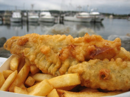 Fish & Chip Shops in Newquay, Cornwall: