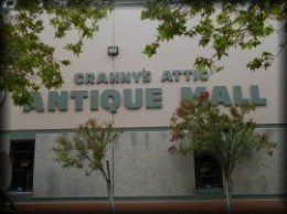 Over 120 different antique vendors under one roof in Temecula.