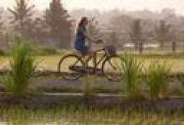 Biking thru the country