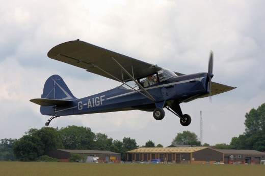 Auster J type taking off