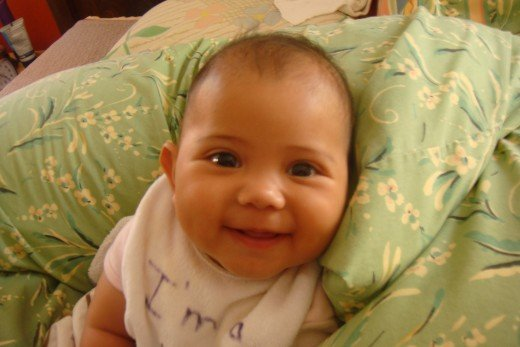 Devin at 5 months