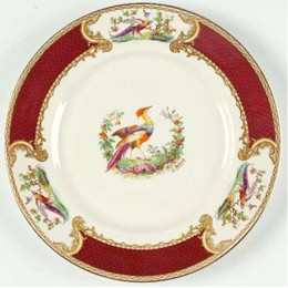 Myott china Chelsea Bird