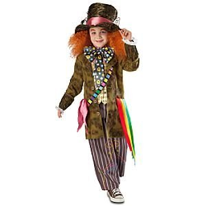Disney Alice in Wonderland Mad Hatter Costume for Child