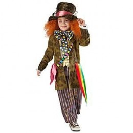 Disney Alice in Wonderland Mad Hatter Costume for Child