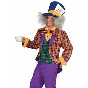 Traditional Alice in Wonderland Mad Hatter costume