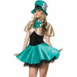 Sexy Mad Hatter Halloween Costume