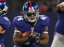 """Ahmad Bradshaw says he feels """"ten times better"""" after having his feet and ankle surgically repaired this offseason."""