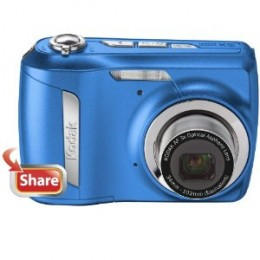 Kodak EasyShare C142 10MP Digital Camera with 3x Optical Zoom and 2.5 Inch LCD (Blue)