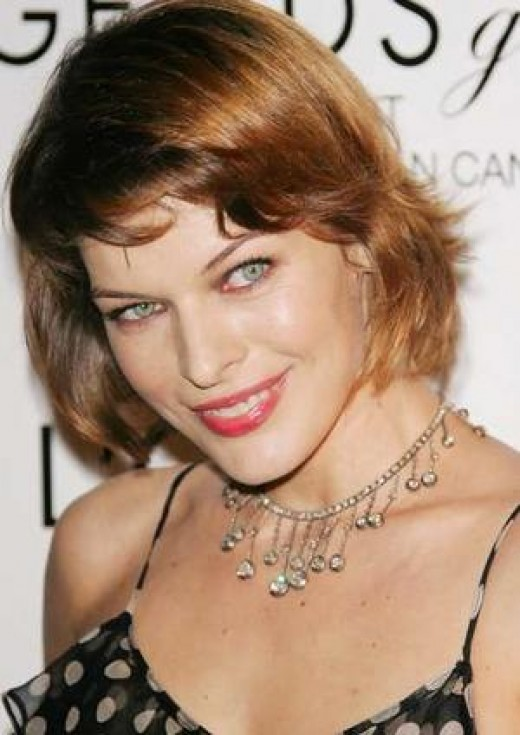 Milla Jovovich, Beautiful Supermodel from Ukraine