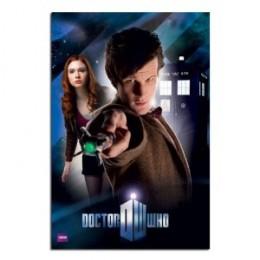The Doctor regenerates into Matt Smith
