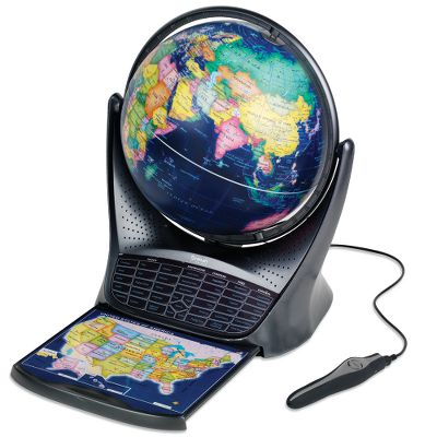 Talking Educational Globe with 64 MB from eggheaven.com