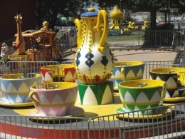 Other cups and saucers at the fair.