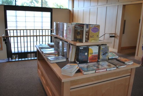 New book releases are highlighted at the Bend Public Library (c) Stephanie Hicks