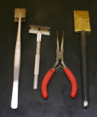 Flamworking hand tools © Janet Crosby