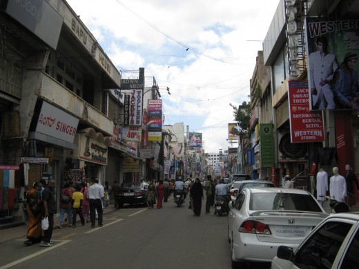 Commercial Street Shopping Paradise For Tourists And