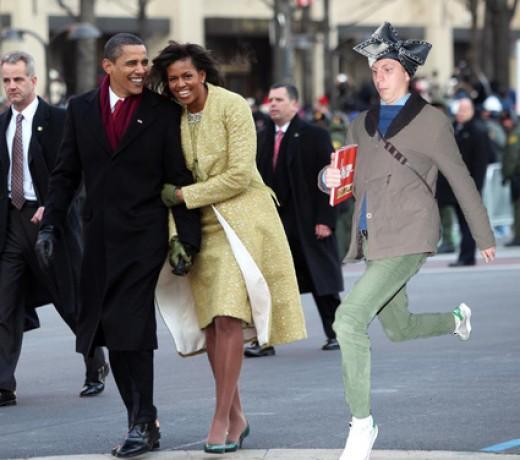 Prancing Cera Obama