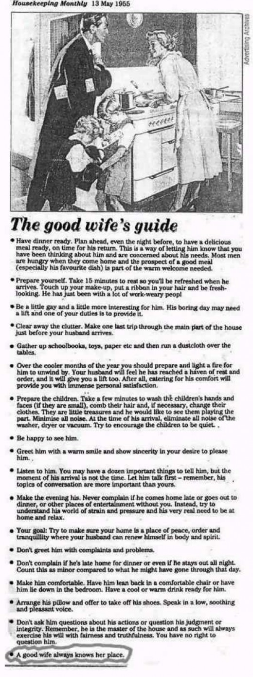 The 1950's good wife