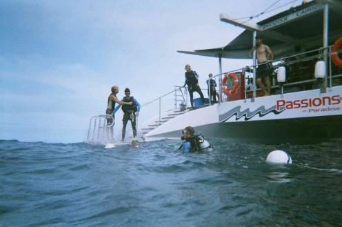 Entering the Coral Sea