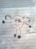 Jaiden's picture of herself
