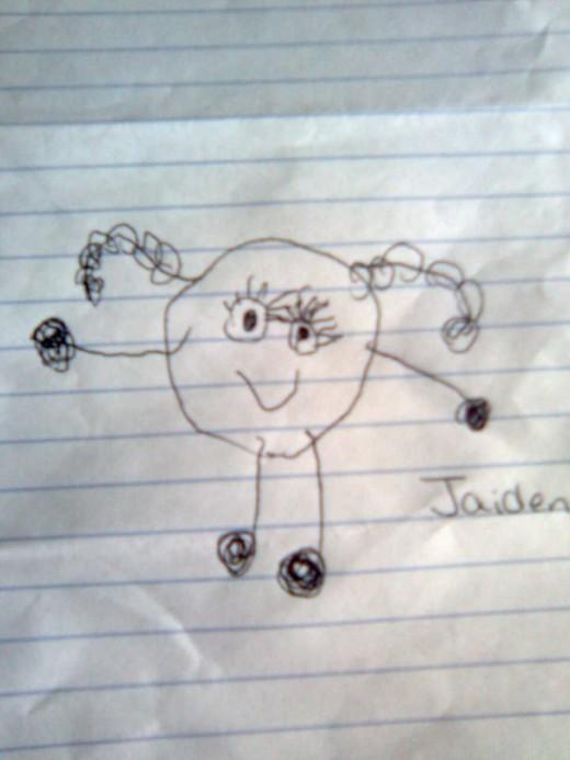 Jaiden's picture of herself