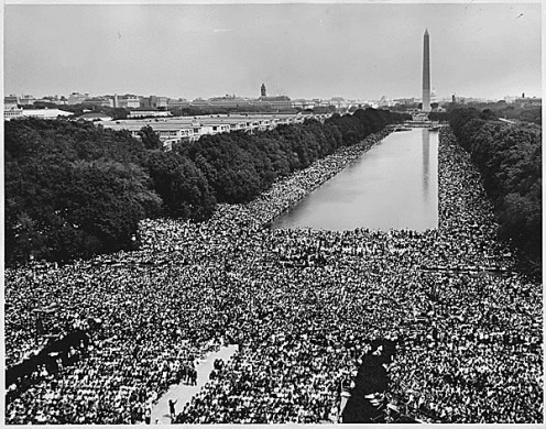 "IS THERE A ""CROWD MENTALITY""? 1963 March on Washington"