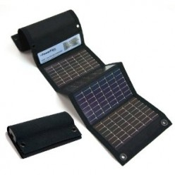 USB + AA Solar Panel Charger