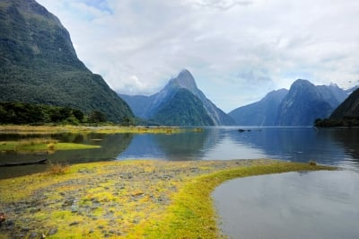 The Milford Sound in New Zealand is one of the most visited attractions in the world.
