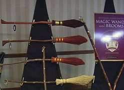 Buy Harry Potter Broomsticks - Potter Brooms for Costumes and Collectors