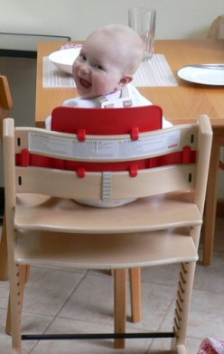 High Chair - Stokke High Chair - Stokke Natural Tripp Trapp High Chair