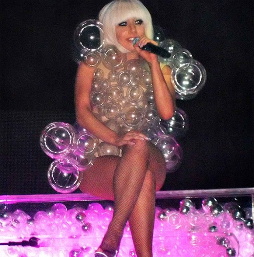 Lady Gaga performing on the Fame Ball tour in Minneapolis, MN (March 23, 2009)