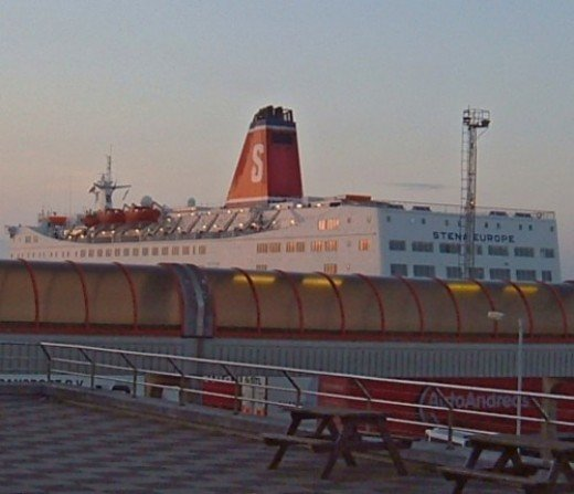 Stena Line ferry in Rosslare