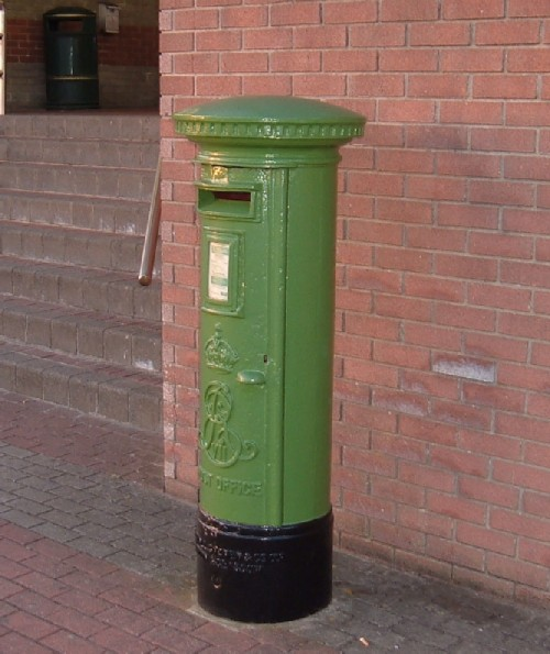 Irish postbox