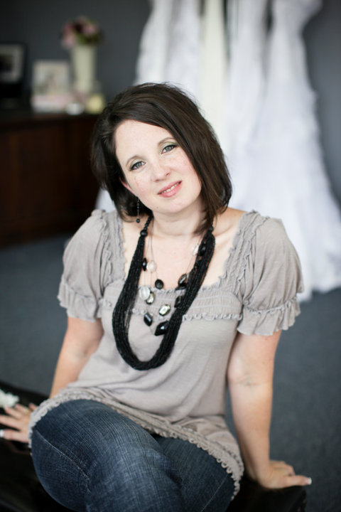 "Wife, mother and fashion designer, Jaime Stephens has the ""best job!"" Photo by Luna Photography"