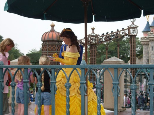 Belle at Euro Disney